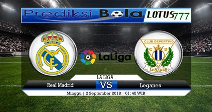 Prediksi Real Madrid vs Leganes 2 September 2018
