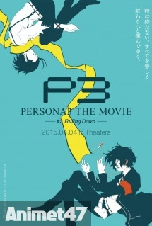 Persona 3 the Movie 3: Falling Down -  2015 Poster