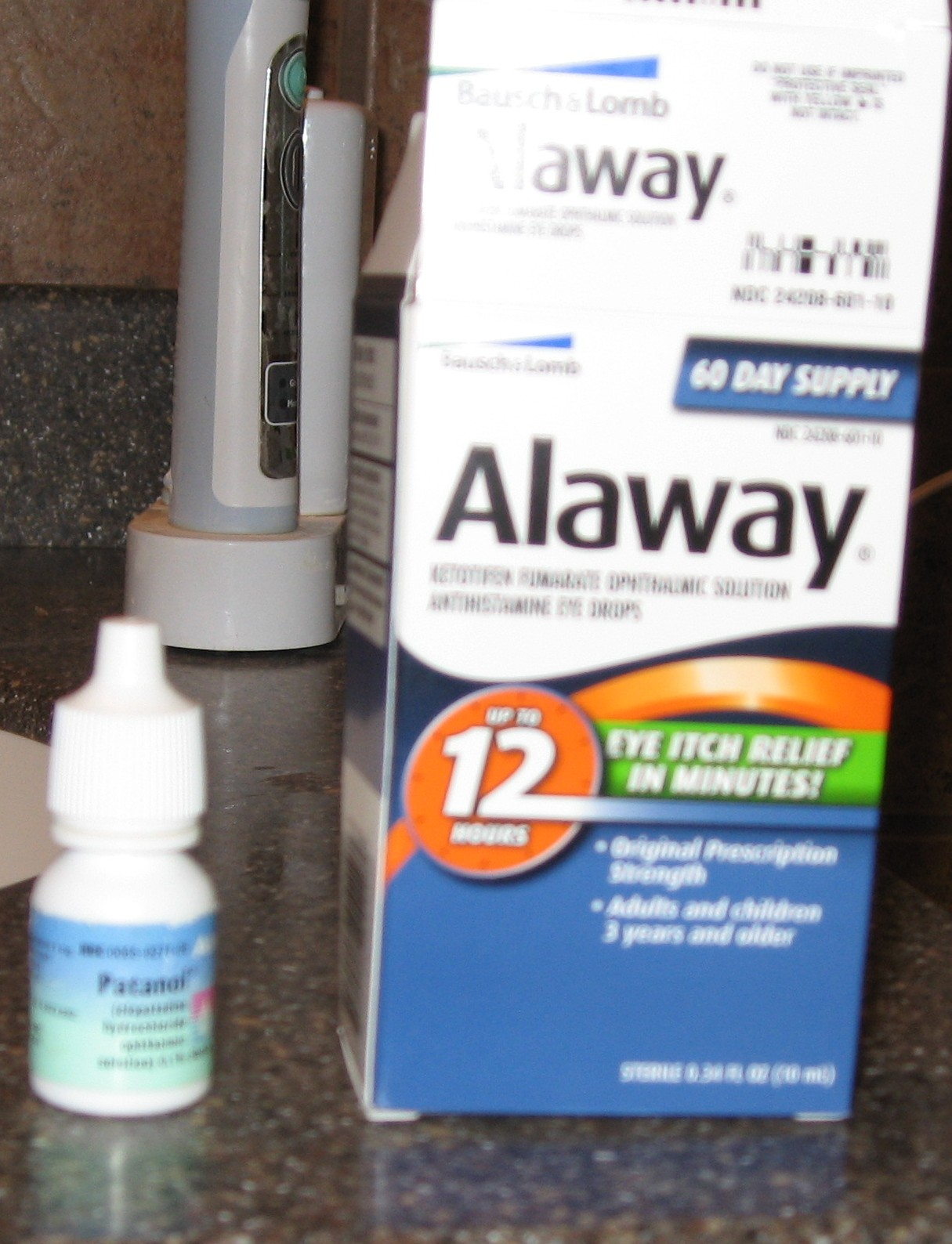 How It Looks From Here Patanol Vs Alaway Ketotifen Fumarate Eye Drops