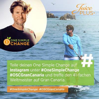 Passend zum Juice Plus Sommer - der nie enden soll - VERLOST die Juice Plus Company  zum Stand Up Paddle Event mit der Surflegende Björn Dunkerbeck auf Gran Canaria! Treffe dort den 41-fachen Weltmeister.