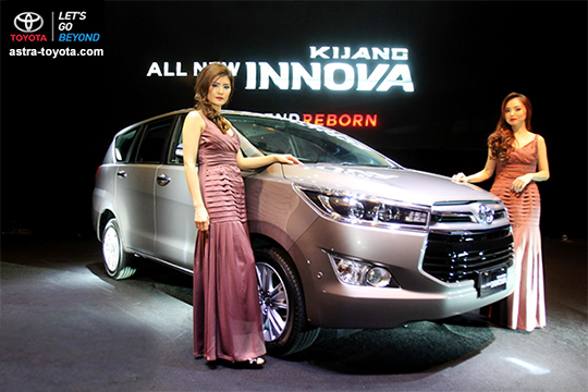 Toyota Kijang Innova Reborn Tunas Toyota Radin Inten Jakarta Timur