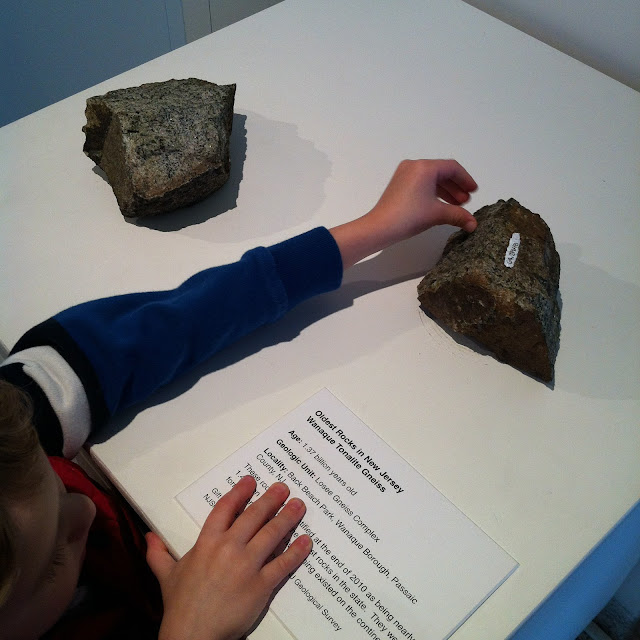 Touchable learning at the NJ State Museum