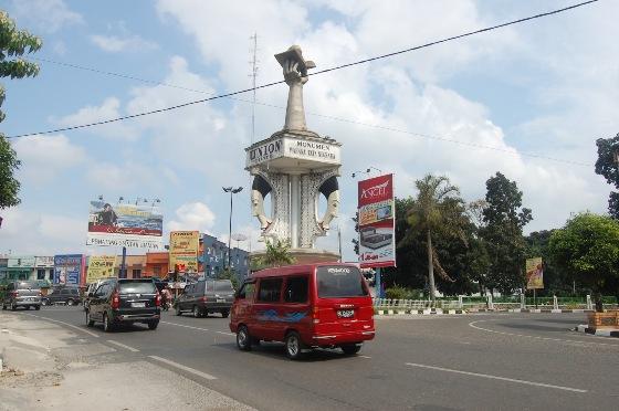 Pematangsiantar Peringkat Pertama Sebagai Kota Toleransi Beragama di Indonesia - Foto: Tugu Wahana Tata Nugraha Kota Pematangsiantar
