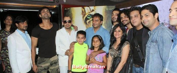 Himarsha Venkatsamy, Aaran Chaudhary, Ali Quli Mirza, Kamal Sadanah, Aadil Chahal, Abis Rizvi, Celebs at 'Roar' Movie First Look Launch