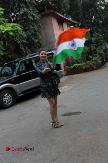 Bollywood Actress Model Urvashi Rautela Stills in Black Dress at Republic Day Celebrations  0006.jpg