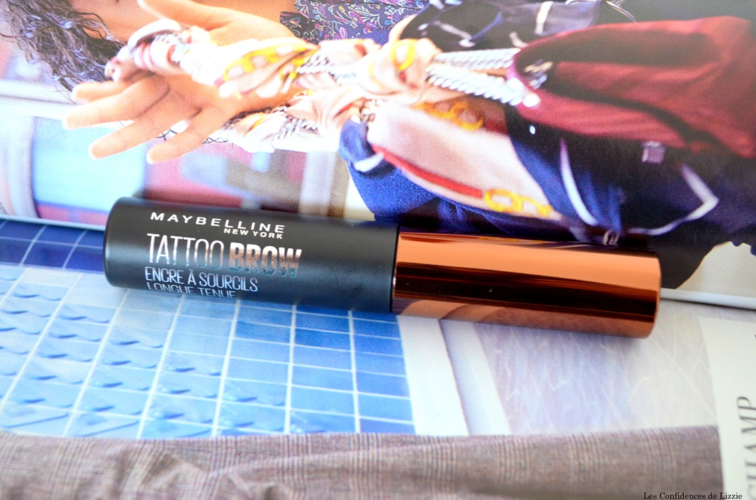 encre a sourcils - maquillage sourcils - effet tatouage sourcils - colorer les sourcils