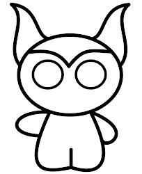 draw maleficent cartoons