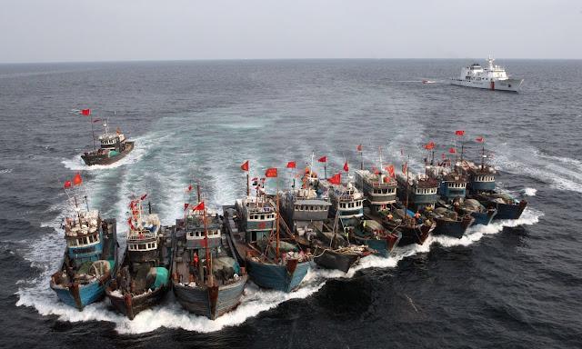 Nelayan Tiongkok Dituding Jadi Intelijen Di Perairan Indonesia