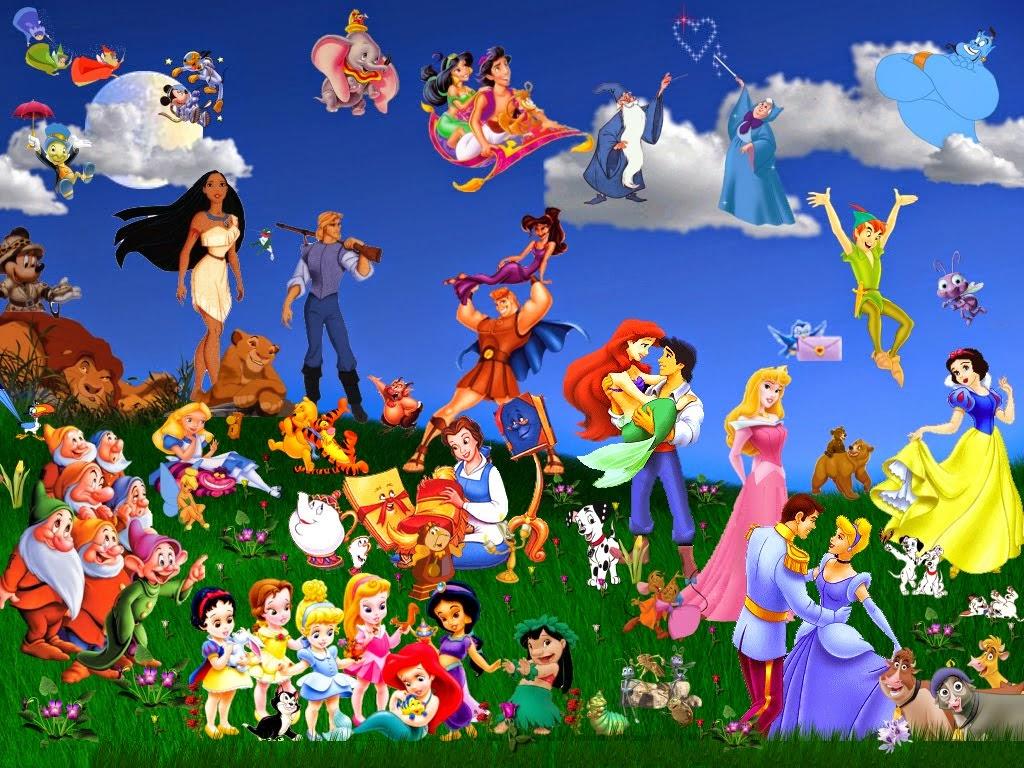 Desenhos Animados Disney Antigos