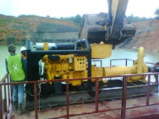Pompa Atau Water Pump Instrument Penting Dalam Penambangan Batubara