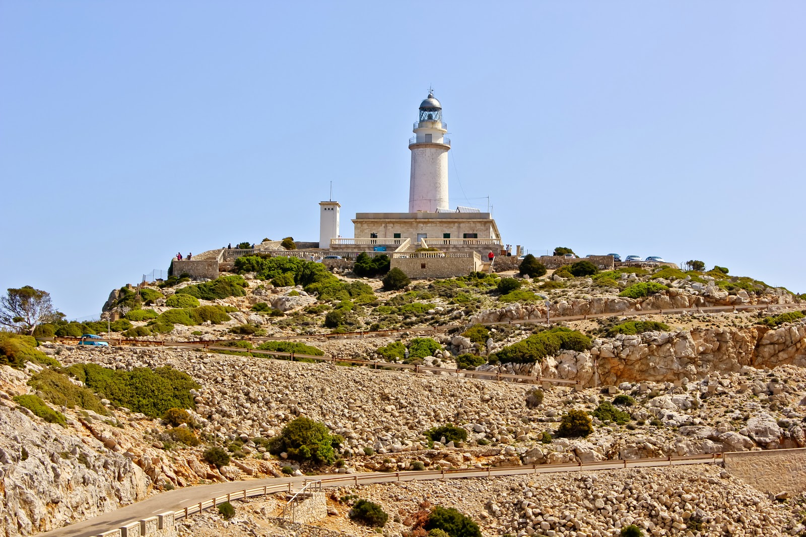 Cap de Formentor z latarnią morską
