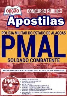 Apostila Soldado Combatente PMAL (PDF GRÁTIS CD Rom)