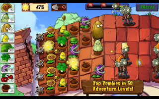 Android Plants vs. Zombies