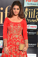 Ritika in sindoori Red Dress at IIFA Utsavam Awards 2017  Day 2  Exclusive 02.JPG