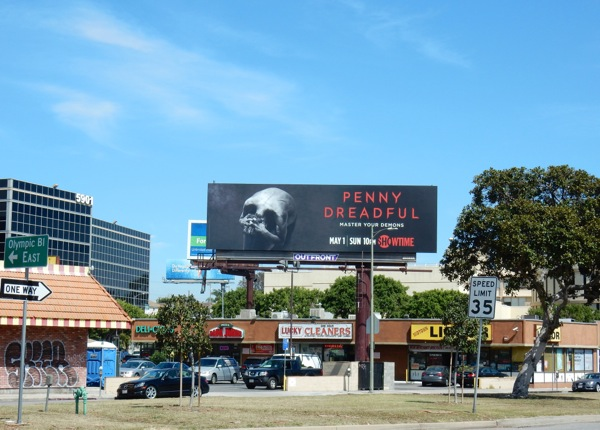 Penny Dreadful season 3 billboard