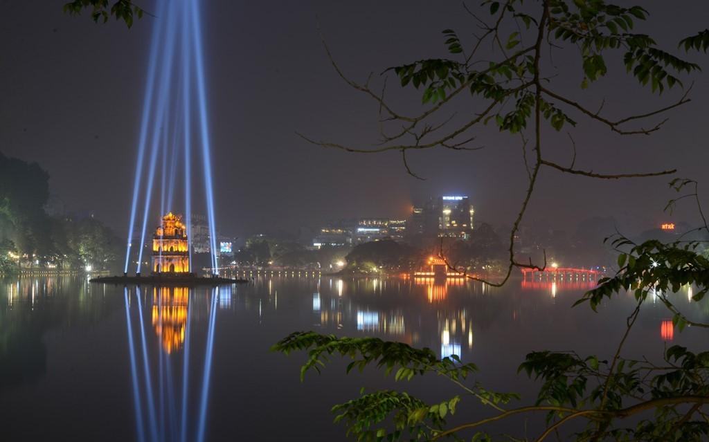 Hanoi Vietnam during Tet