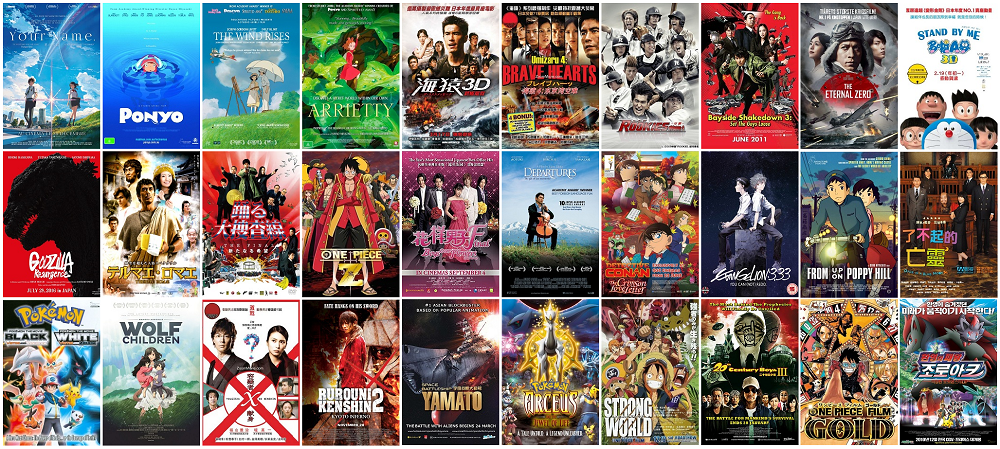 Film Jepang Terlaris Sepanjang Masa