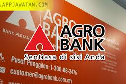 Jawatan Kosong di Bank Pertanian Malaysia Berhad (Agrobank) - 5 Januari 2019