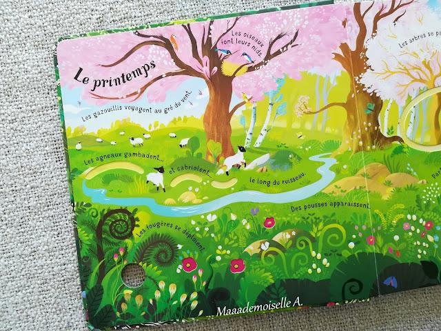 || Les quatre saisons (Présentation & Avis)(Chut, les enfants lisent # 97)