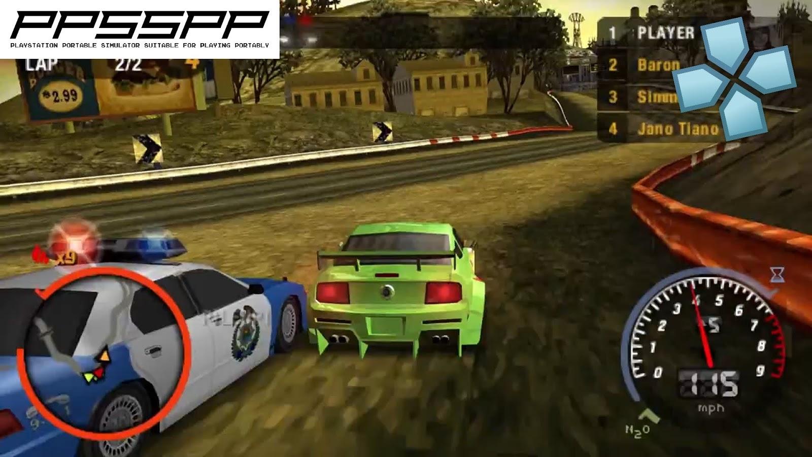 تحميل لعبة need for speed للاندرويد