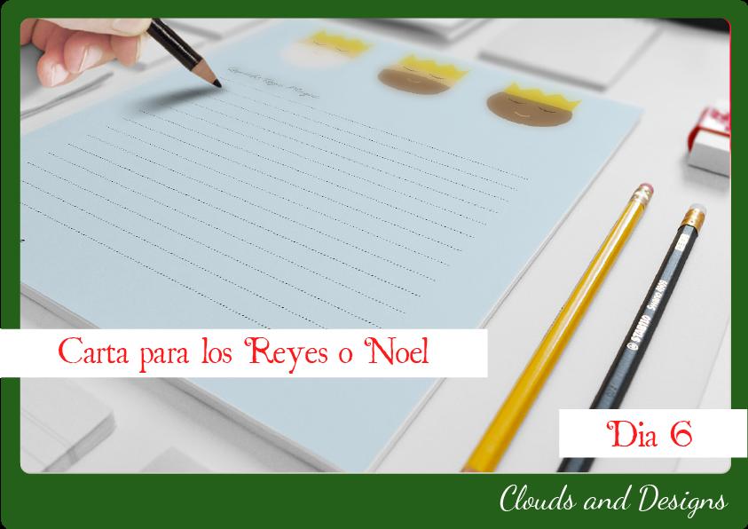 Adviento bloggero dia 6 Carta Reyes Noel