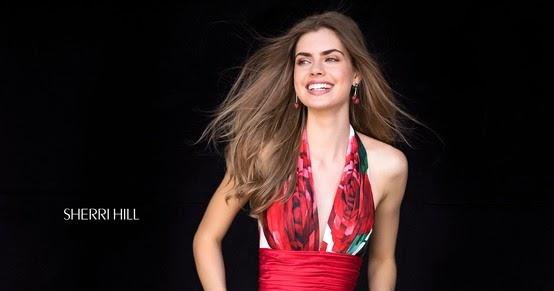 91508b27808 2018 Sherri Hill 52084 Ivory Long Prom Dresses
