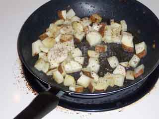 Potato in Skillet