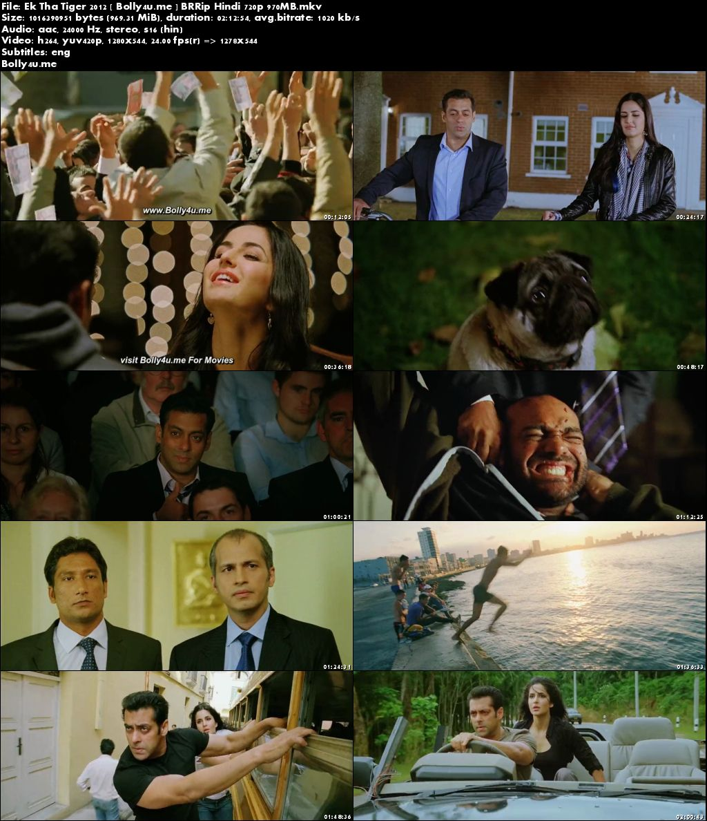 Ek Tha Tiger 2012 BRRip 400MB Full Hindi Movie Download 480p ESub