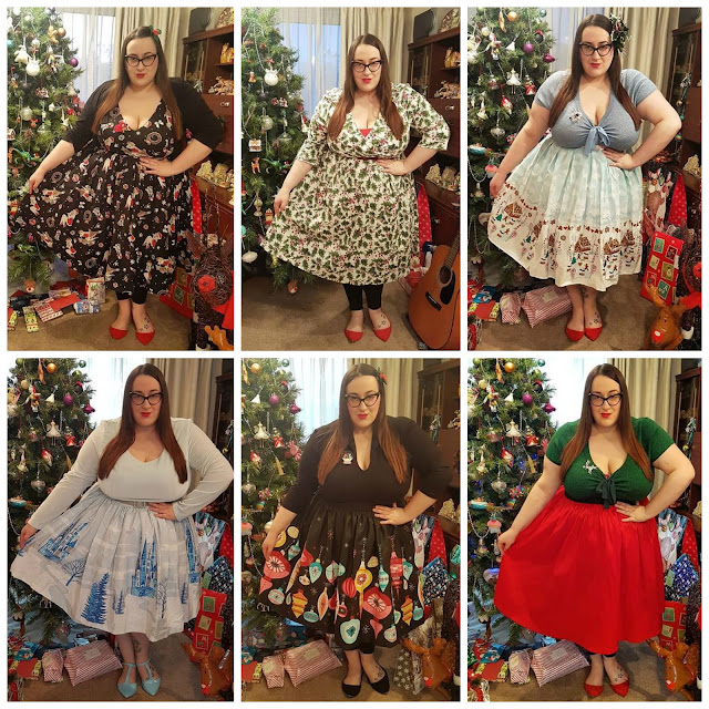 Plus size Christmas outfits inspiration