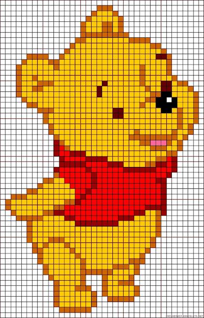 Patrón de Winnie de Pooh