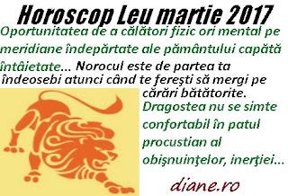 Horoscop martie 2017 Leu