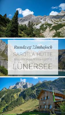 Rundweg Zimbajoch | Sarotla Hütte – Heinrich-Hueter-Hütte - Lünersee |Wandern Brandnertal | Wanderung Vorarlberg