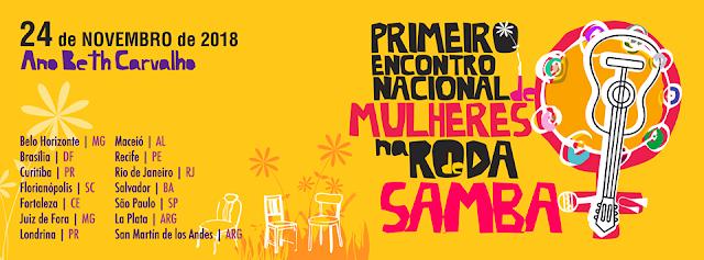 1° Encontro Nacional de Mulheres na Roda de Samba