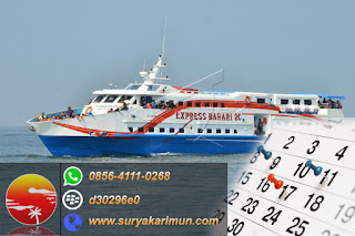 jadwal kapal ke karimunjawa via kendal paket wisata murah backpacker