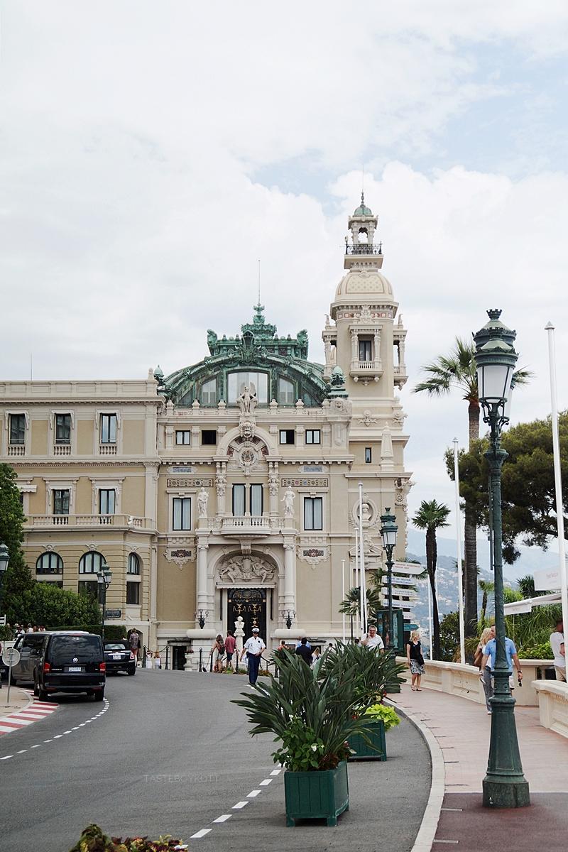 Casino Monaco Fassade Sommer Städtetrip Urlaub Südfrankreich Mittelmeer Interrail-Reise