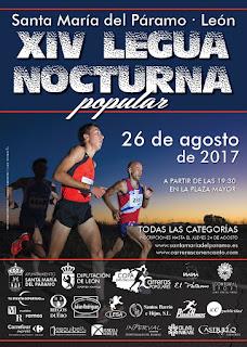 Legua Nocturna Santa Maria del Paramo 2017