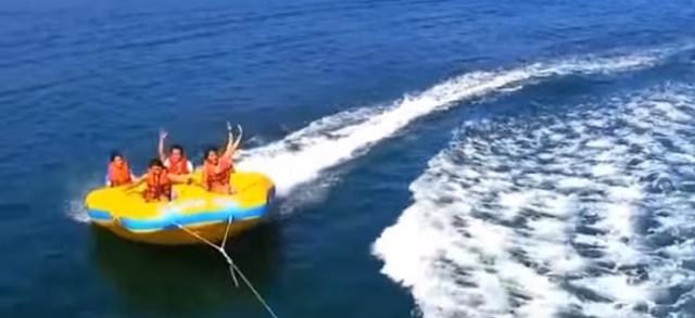 bali donut boat