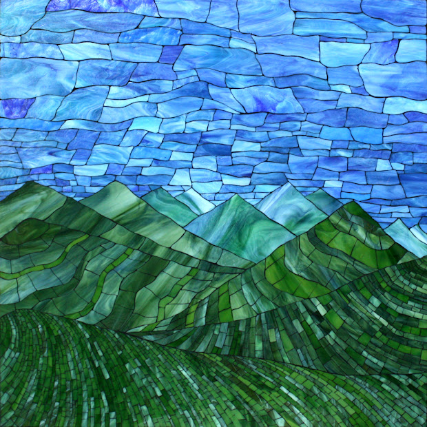 Kasia Mosaics Green Mountains