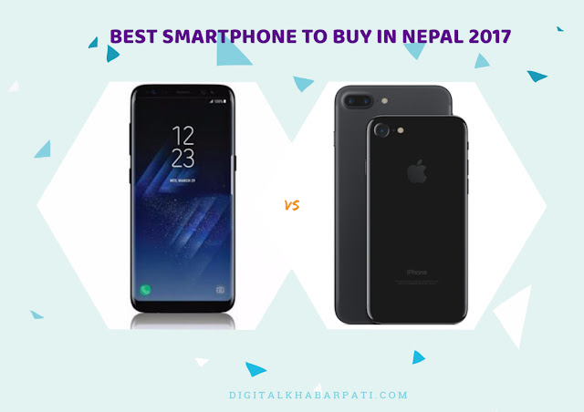 Best Smartphones of 2017 to buy in Nepal