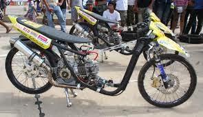 Modifikasi Motor Drag Terbaru 2015