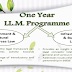 LLM (LLM programme with specialisation in Environment and Natural Resources Law and Infrastructure and Business Law)
