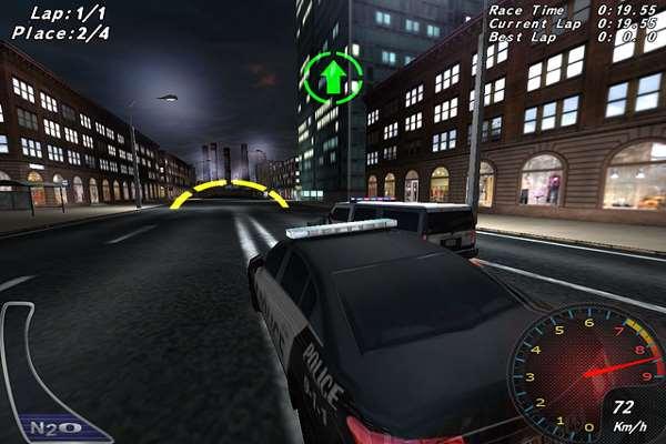 تحميل لعبة سباق سيارات الشرطة للكمبيوتر
