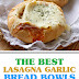 The Best Lasagna Garlic Bread Bowls