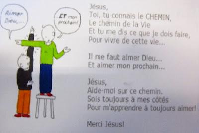 Liturgie parole enfants prière