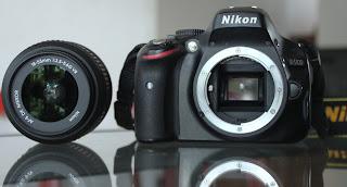 Kamera Nikon D5100 + Lensa + Fullset