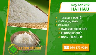 Gạo tạp dao giá rẻ tại Hải Hậu Nam Định