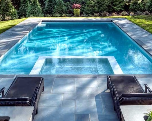 Modern Inground Pools in India