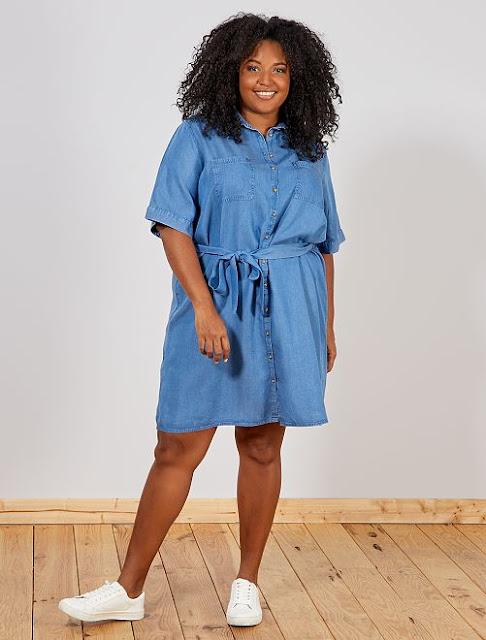 vestido-denim-kiabi-tallas-grandes