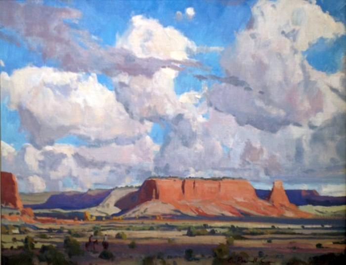 Горные пейзажи. G. Russell Case 3