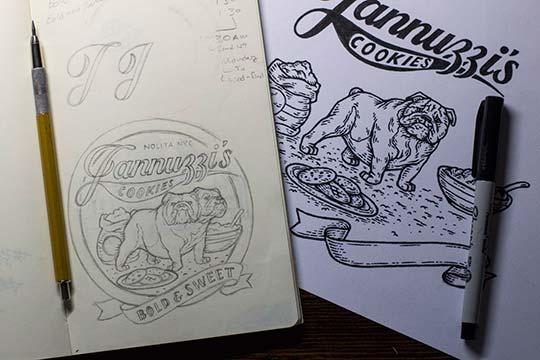 Diseño, ilustración y lettering por Nathan Yoder